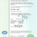 CITIZEN SECURITY CERTIFICATE-1