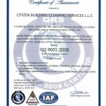 ISO CLEANING CERTIFICATE-1