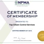 Top Citizen Control Services-NPMA_Certificate-2017-2018-1